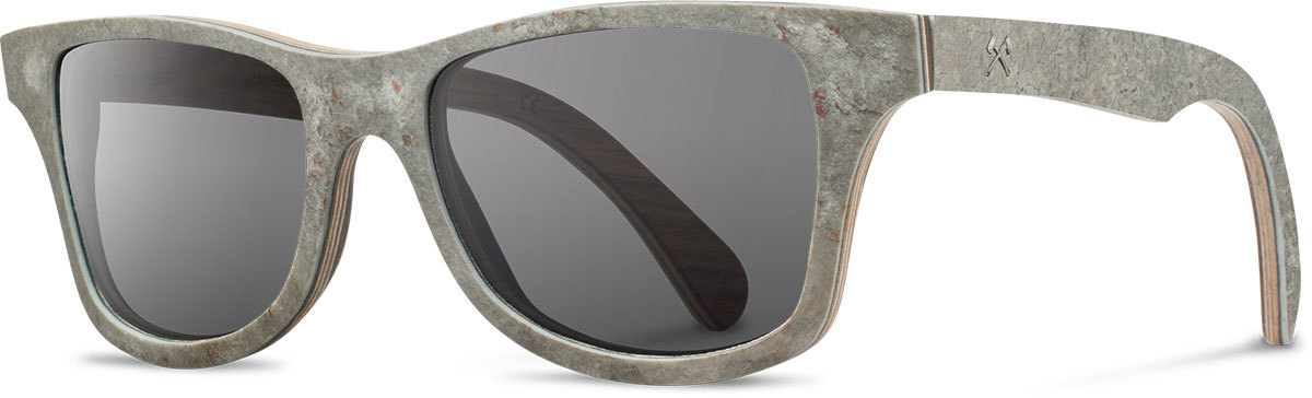 Shwood stone sunglasses select canby white slate grey polarized left s 2200x800