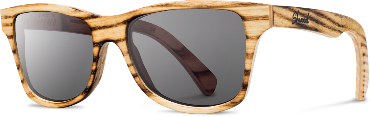 Shwood wood sunglasses original canby louisville slugger flame grey polarized left s 2200x800