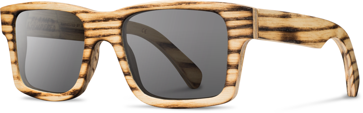 Shwood wood sunglasses original haystack louisville slugger flame grey polarized left s 2200x800