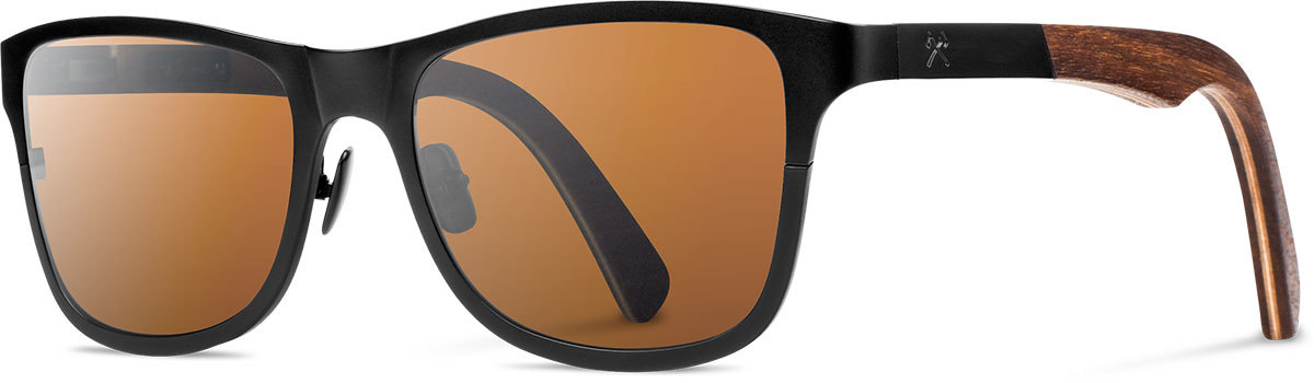 Shwood titanium wood rx glasses fifty fifty canby black walnut brown polarized left s 2200x800