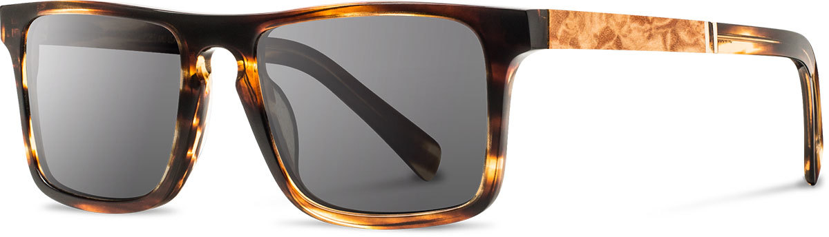 Shwood acetate wood sunglasses fifty fifty govy 2 tortoise maple burl grey left s 2200x800