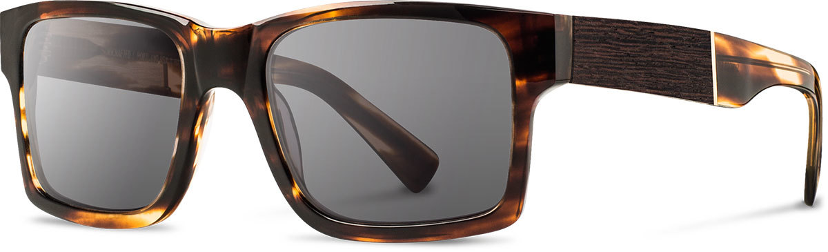 Shwood acetate wood sunglasses fifty fifty haystack tortoise ebony grey left s 2200x800