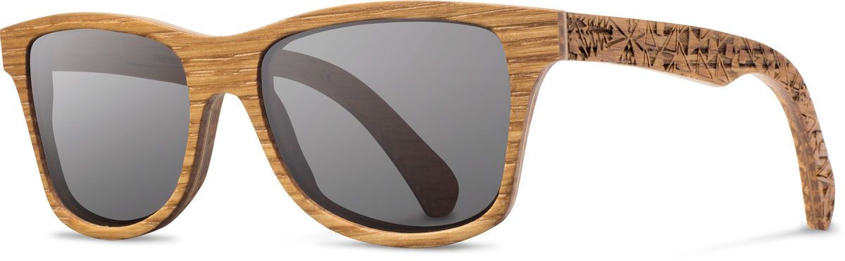 Shwood wood sunglasses canby pendleton oak bandana grey polarized left s 2200x800