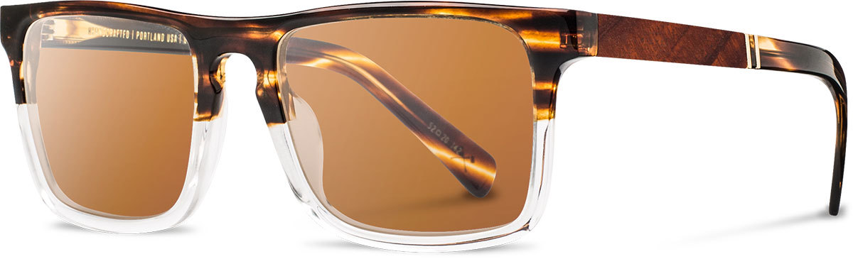 Shwood acetate wood sunglasses fifty fifty govy 2 whiskey soda mahogany brown polarized left s 2200x800