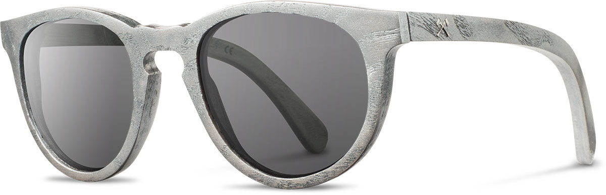 Shwood wood sunglasses belmont mercedes benz metallized ash grey polarized left s 2200x800
