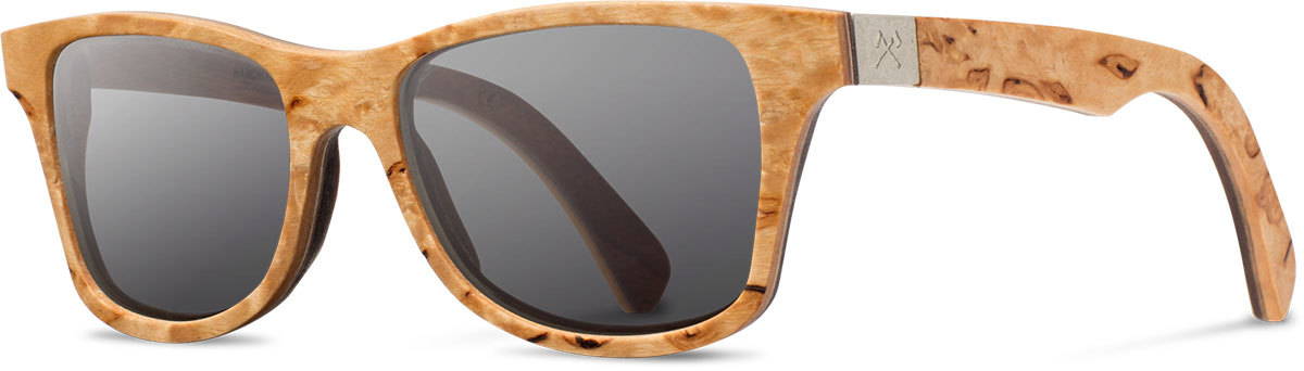 Shwood wood prescription glasses select canby karrelian burl walnut grey polarized left s 2200x800