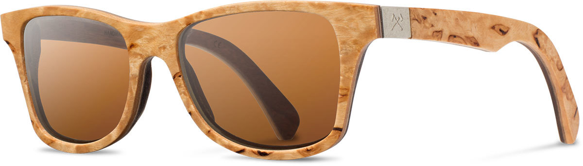 Shwood wood prescription glasses select canby karrelian burl walnut brown polarized left s 2200x800