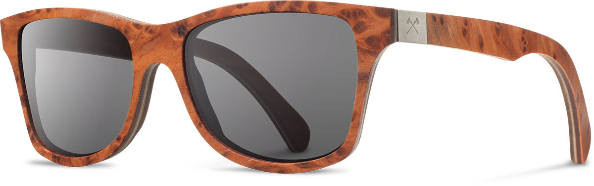 Shwood wood prescription glasses select canby redwood burl walnut grey polarized left s 2200x800