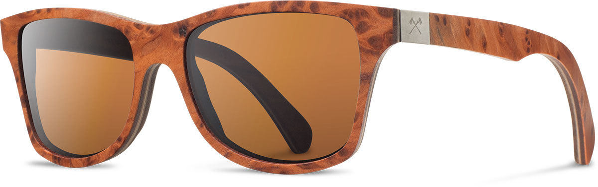 Shwood wood prescription glasses select canby redwood burl walnut brown polarized left s 2200x800