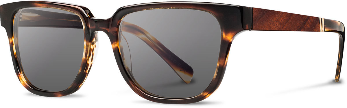 Shwood acetate wood sunglasses fifty fifty prescott tortoise mahogany grey left s 2200x800
