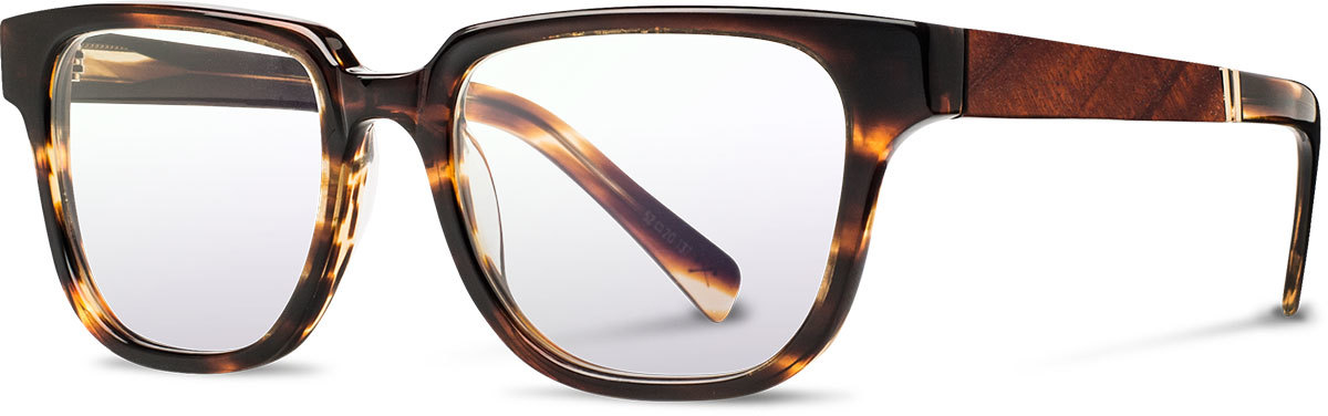 Shwood acetate wood prescription glasses fifty fifty prescott tortoise mahogany left s 2200x800