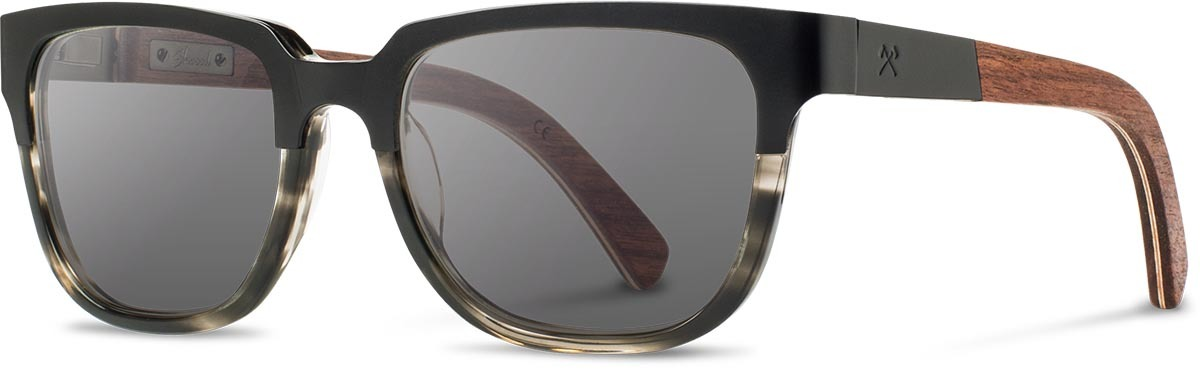 Shwood titanium wood acetate prescription glasses fifty fifty prescott black walnut pearl grey grey polarized left s 2200x800