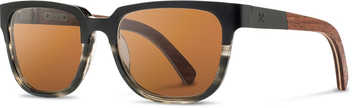 Shwood titanium wood acetate prescription glasses fifty fifty prescott black walnut pearl grey brown polarized left s 2200x800