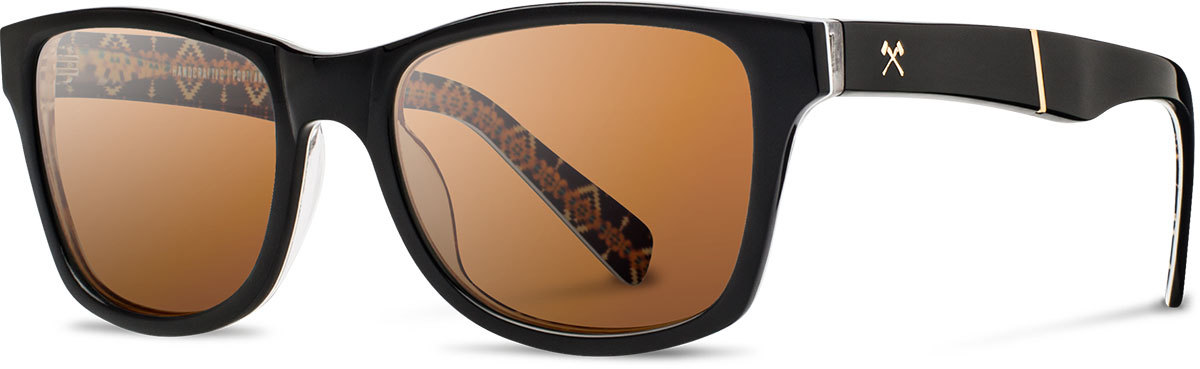 Shwood acetate sunglasses limited pendleton canby rancho arroyo brown polarized left s 2200x800