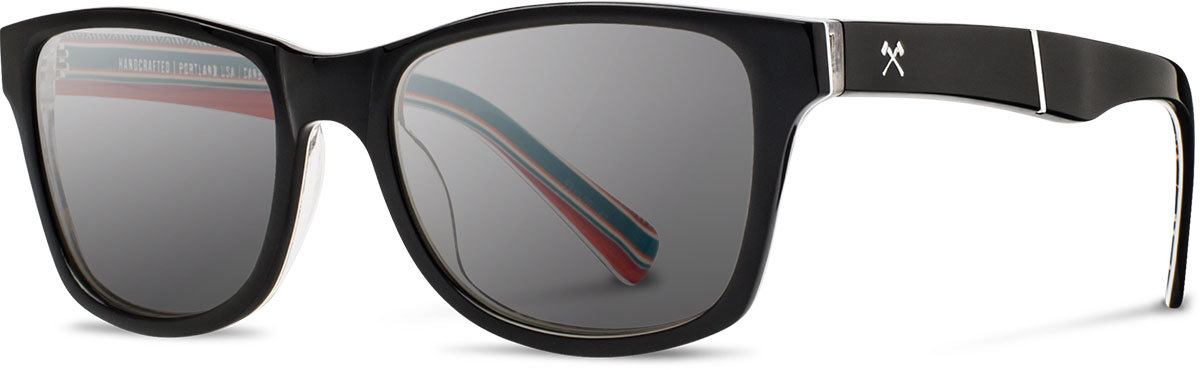 Shwood acetate sunglasses limited pendleton canby serape grey polarized left s 2200x800