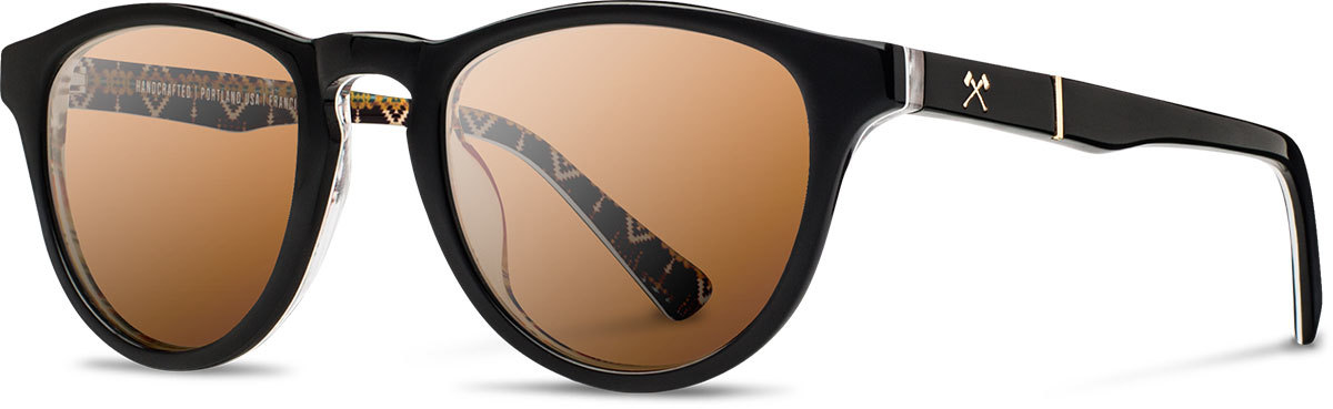 Shwood acetate sunglasses limited pendleton francis rancho arroyo brown polarized left s 2200x800
