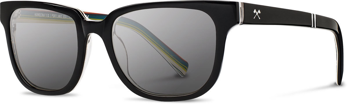 Shwood acetate sunglasses limited pendleton prescott serape grey polarized left s 2200x800