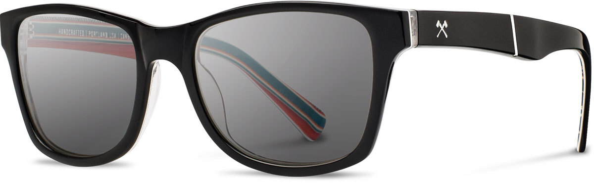 Shwood acetate prescription glasses limited pendleton canby serape grey polarized left s 2200x800
