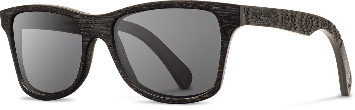 Shwood wood sunglasses canby pendleton dark walnut rancho grey polarized left s 2200x800