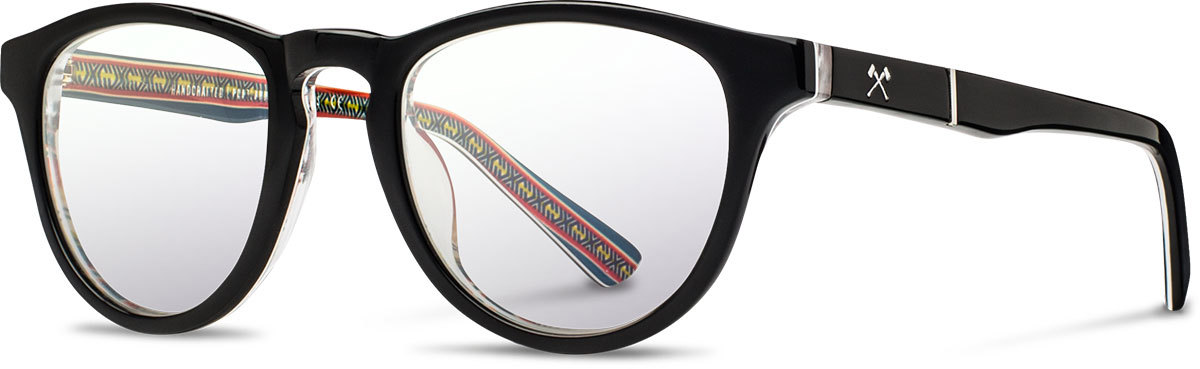 Shwood acetate prescription glasses limited pendleton francis serape left s 2200x800