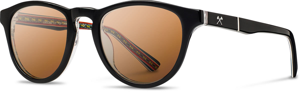 Shwood acetate prescription glasses limited pendleton francis serape brown polarized left s 2200x800