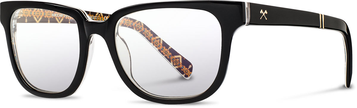 b451194327 This pair of glasses projects a bold and high-fashion look. It would look  best on round