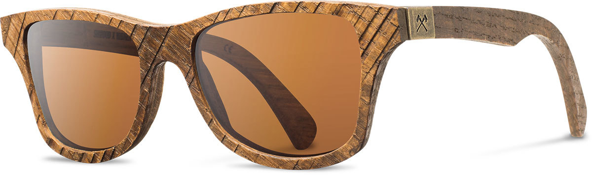 Shwood wood sunglasses canby widmer skip saw oak brown polarized left s 2200x800