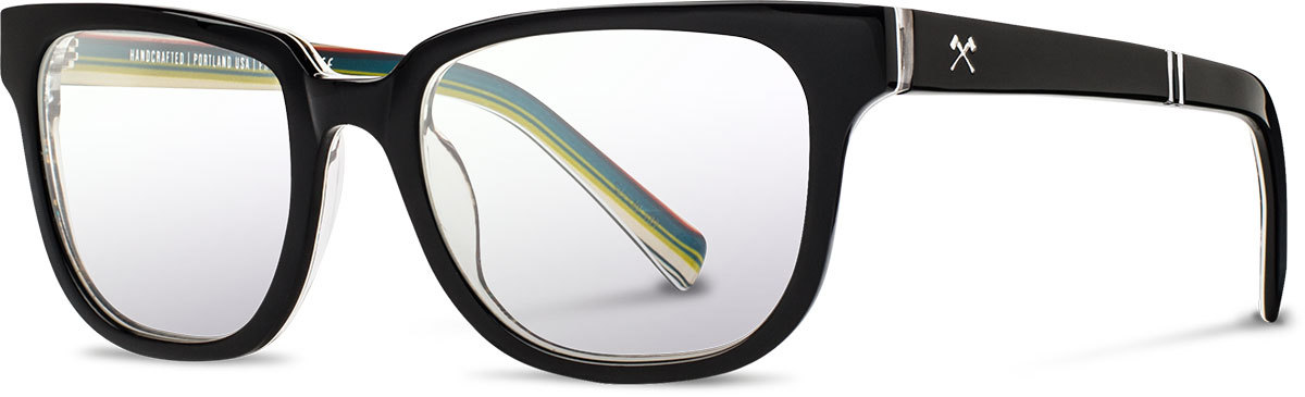 Shwood acetate prescription glasses limited pendleton prescott serape left s 2200x800