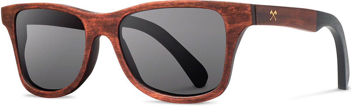 Shwood wood sunglasses canby limited slugger 2 select paint dipped ash grey polarized left s 2200x800