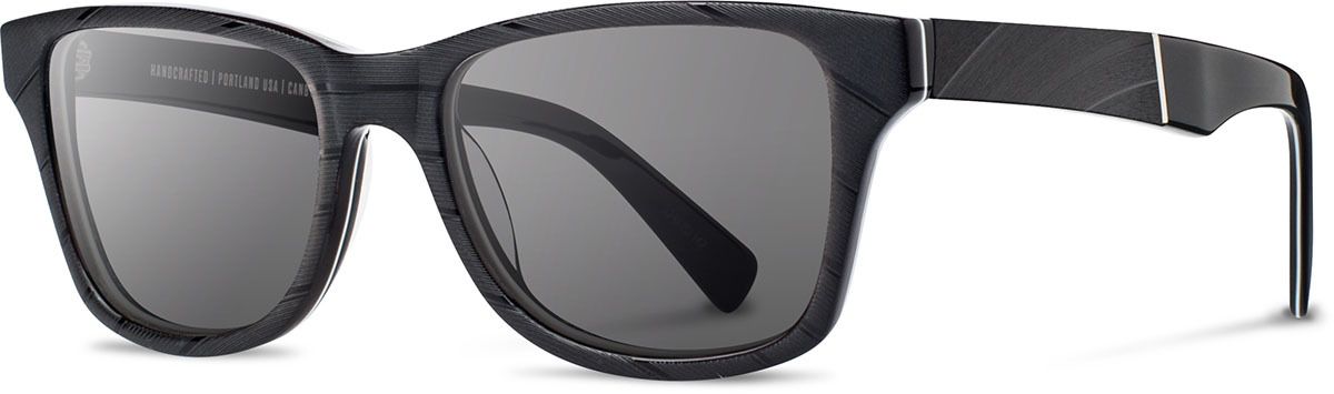 Shwood acetate vinyl record sunglasses canby limited atlantic fifty fifty black vinyl grey polarized left s 2200x800