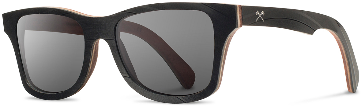 Shwood wood vinyl record sunglasses canby limited atlantic select santos mahogany vinyl grey polarized left s 2200x800