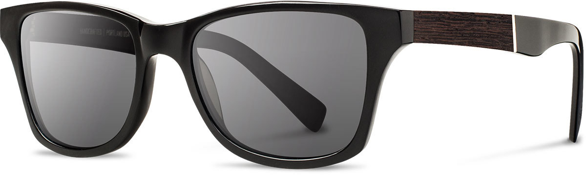 Shwood acetate wood sunglasses fifty fifty canby black ebony grey left s 2200x800