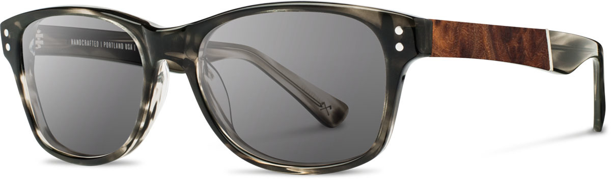 Shwood acetate wood sunglasses fifty fifty cannon pearl grey elm burl grey polarized left s 2200x800