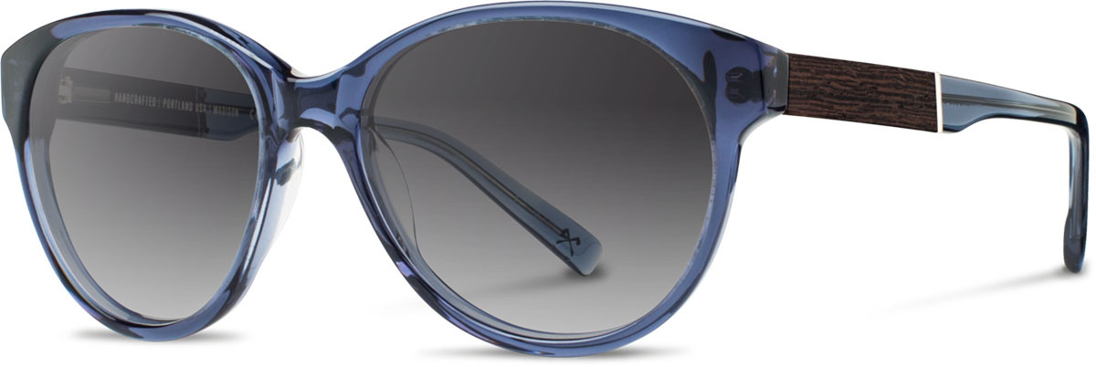 Shwood acetate wood womens sunglasses fifty fifty madison blue crystal ebony grey fade polarized left s 2200x800