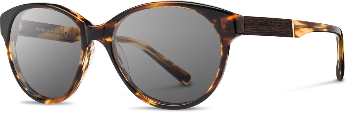 Shwood acetate wood womens sunglasses fifty fifty madison tortoise ebony grey left s 2200x800