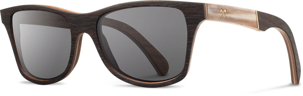 Shwood wood prescription glasses select canby ebony horn grey polarized left s 2200x800