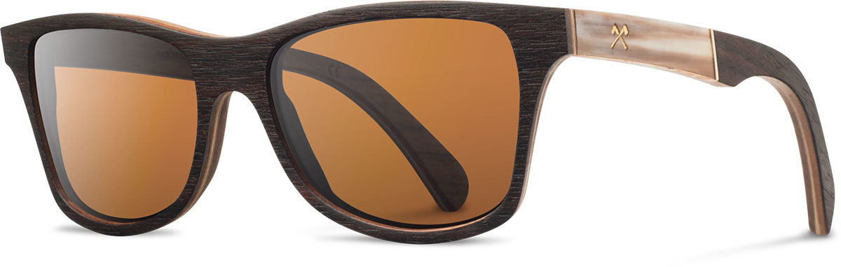Shwood wood prescription glasses select canby ebony horn brown polarized left s 2200x800