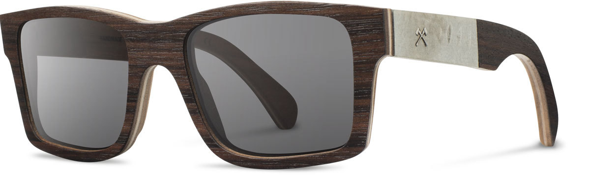 Shwood wood stone sunglasses select haystack ebony slate grey polarized left s 2200x800