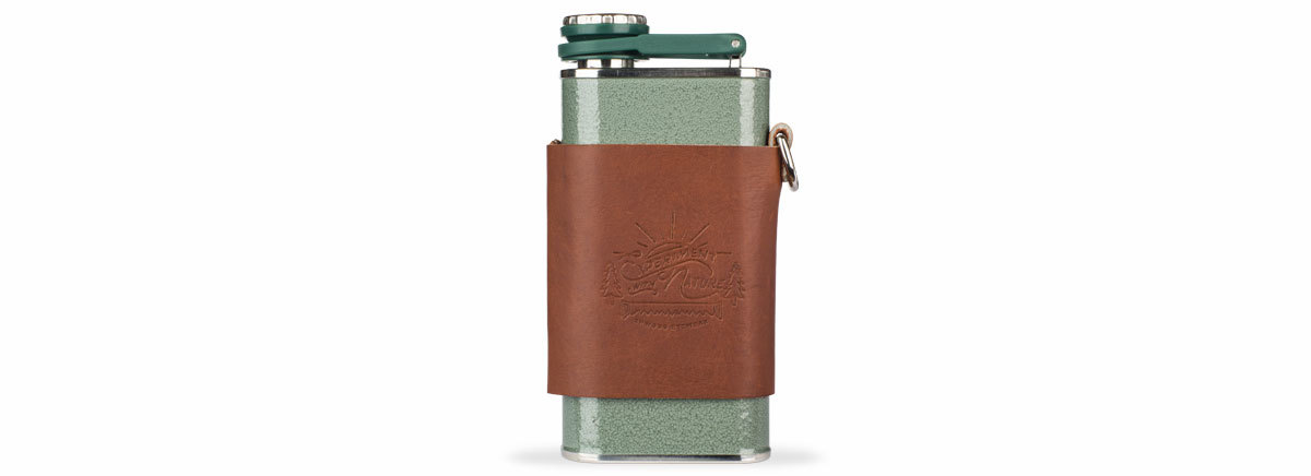 Shwood stanley flask green