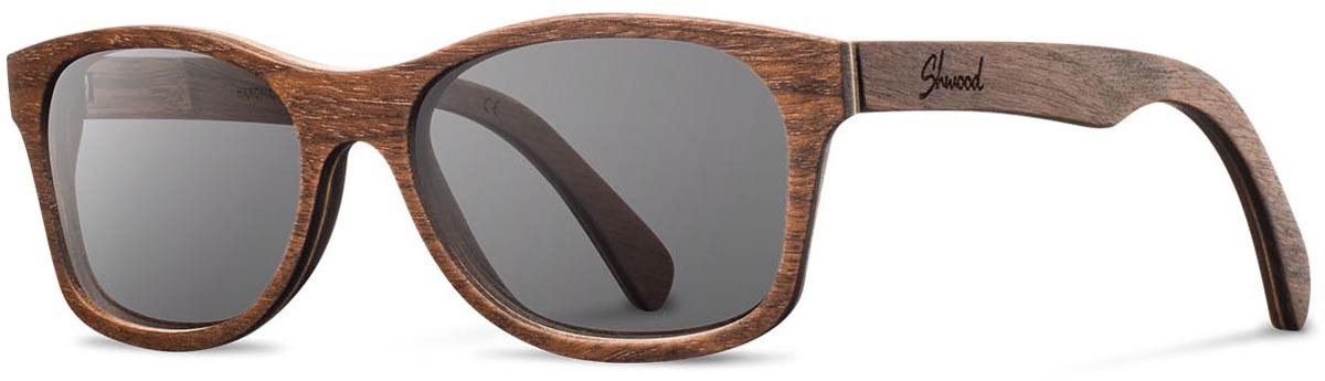 Shwood wood sunglasses original cannon walnut grey left s 2200x800