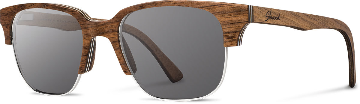 Newport 52mm walnut grey polarized wonwgp a s