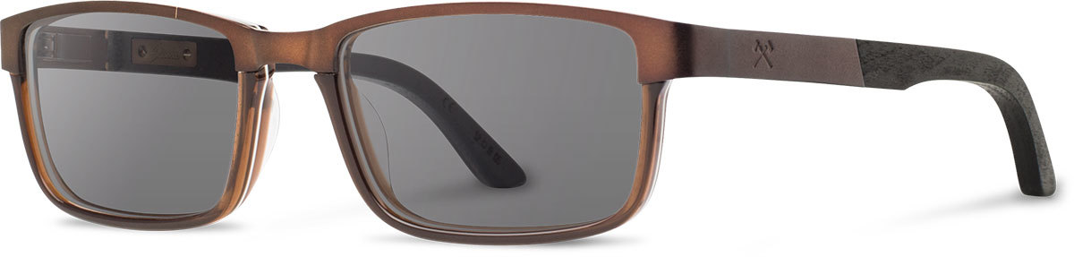 Shwood titanium acetate wood prescription glasses fremont antique bronze black dark walnut grey polarized left s 2200x800