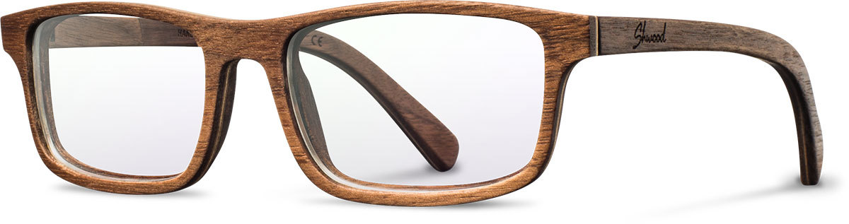 Shwood wood prescription glasses original fremont walnut left s 2200x800