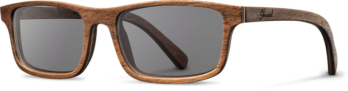 Shwood wood prescription glasses original fremont walnut grey polarized left s 2200x800