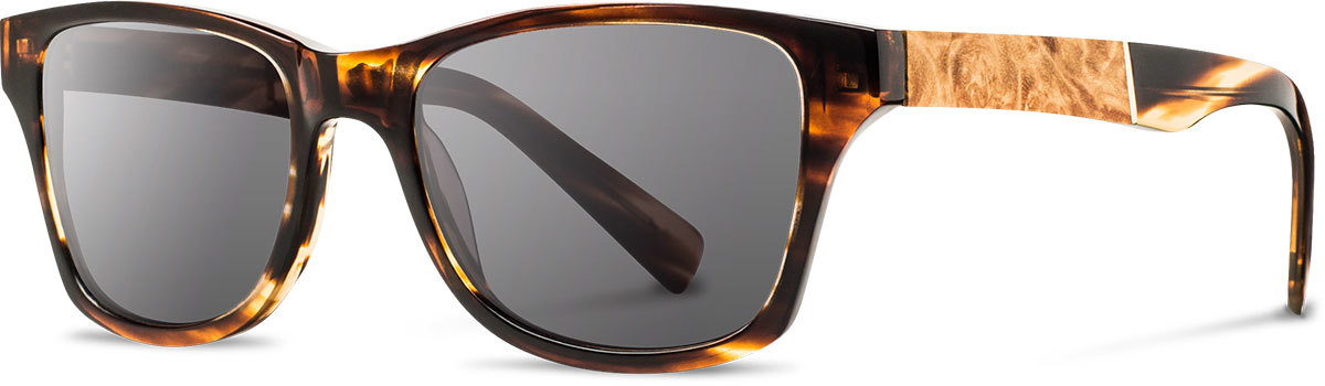 Shwood acetate wood sunglasses fifty fifty canby tortoise maple burl grey left s 2200x800