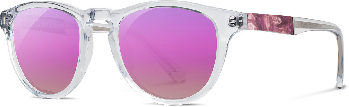 Francis crystal shaper studios sunset surf resin rose flash polarized wafc2ssrr3p a s