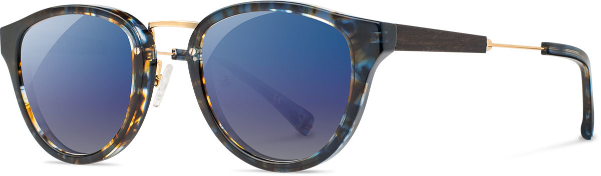 Ainsworth blue nebula   gold ebony blue flash polarized waab5b3p a s