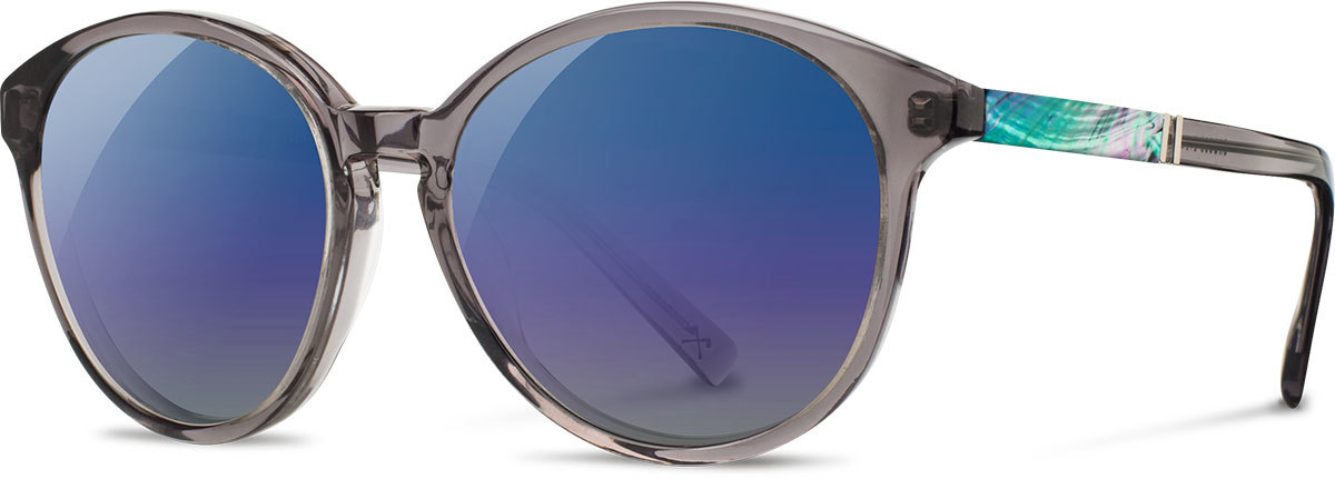 Bailey smoke abalone shell blue flash polarized wwab2sasb3p a s