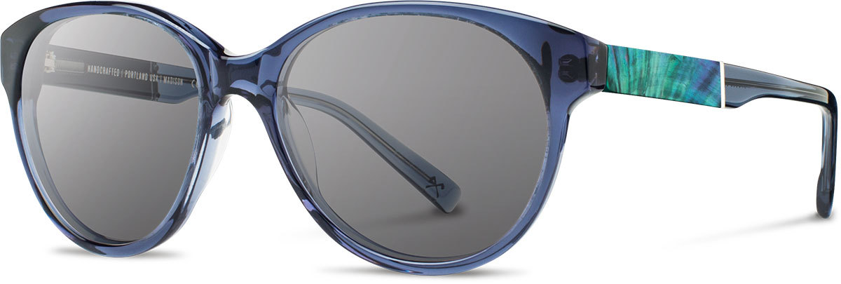 Madison blue crystal abalone shell grey polarized wwamb2asgp a s