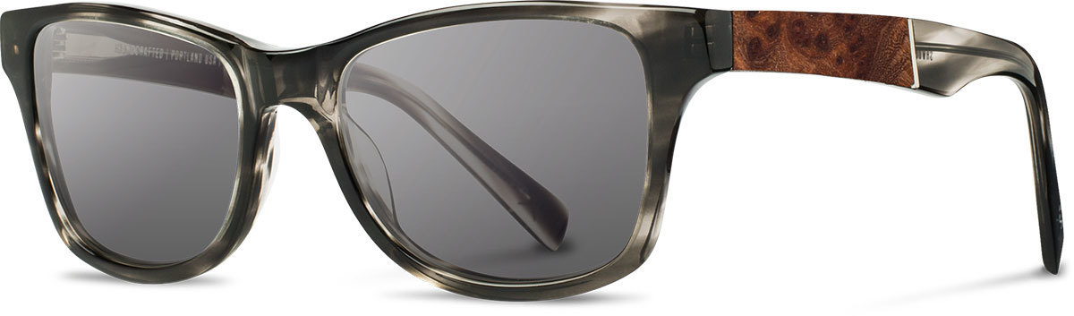 Shwood acetate wood sunglasses fifty fifty canby pearl grey elm burl grey polarized left s 2200x800